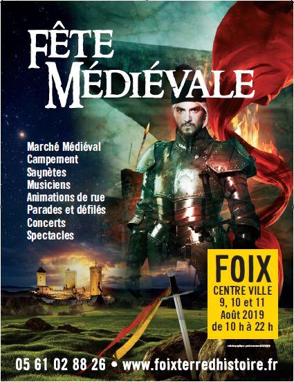 Calendrier Fete Medievale.Fete Medievale De Foix 2019 Federation Francaise Des Fetes