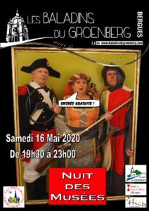 Affiche 2020 de la Nuit des Musées